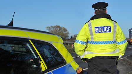 Police hope for information about a burglary.