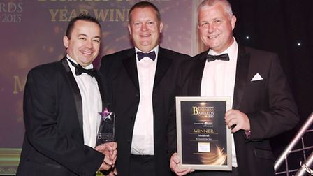 Metalcraft winners of the Business of Year 2015