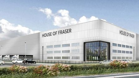 House of Fraser distribution hub plans could create 1,000 local jobs