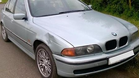 Car seized after collision - driver was also without insurance