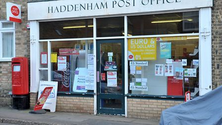 The current Post Office in Haddenham. Picture: Steve Williams.
