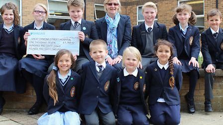 Magdalene House, the Preparatory School of Wisbech Grammar school raises in excess of £1700 for Grea