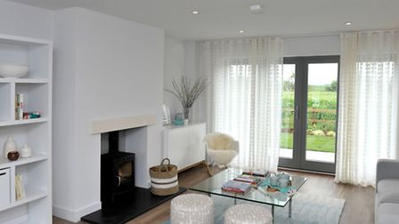 The Community Land Trust Show home. Picture: Steve Williams.