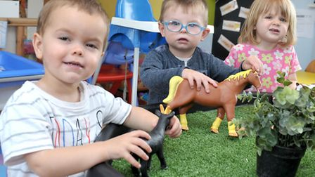 Clarence House Day Nursery, Chatteris.Outstanding Ofsted. Picture: Steve Williams.