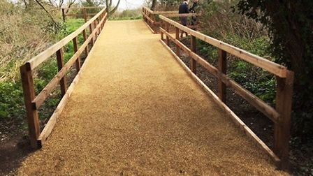 Access improvements completed at Ely Country Park