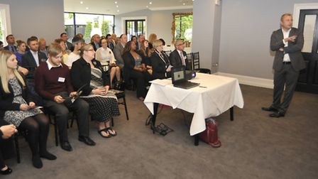 Ely Business Awards networking event