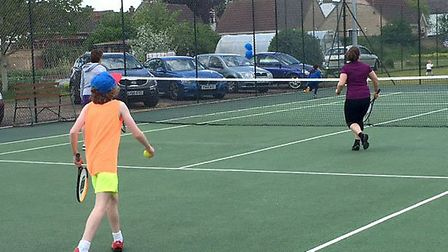 Chatteris Tennis Club open day pulls in the crowds