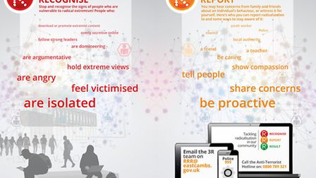 East Cambs launches 3R campaign to tackle radicalisation