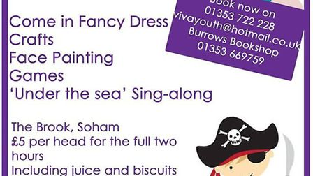Mermaid and pirate party sets sail for The Brook, Soham