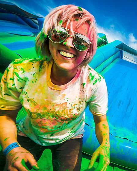 Colour Run is a charity 5k obstacle c ourse that Specsavers stasff in March have signed up for to ra