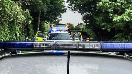 Police pursuit in Wisbech