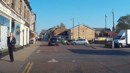 A normal day in Chatteris - but Peter Scott was not expecting this!