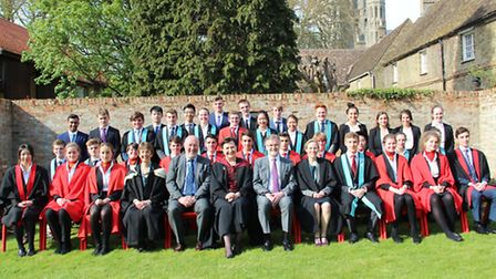 King's Ely prize-giving celebrations