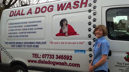 Dial A Dog wash comes to the area