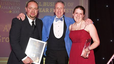 A D Sutton Motor Group Engineers Ltd winners of the Small Business Award 2015