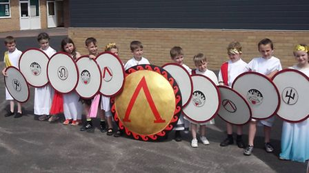Greek Day at Cavalry Primary in March