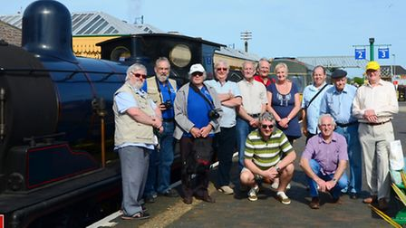 March & District Model Railway Club Visit to North Norfolk Railway on 7th June 2016.