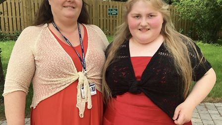 Margaret Woodward is named Young Carer of the Year