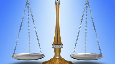 Scales of Justice. Court report