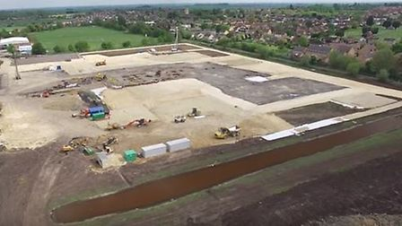 An overview of the Littleport site so far
