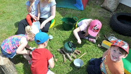 New playgroup at Thorney Toll village hall. Picture: Steve Williams.