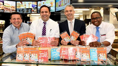 McDonald's at Eye have donated books