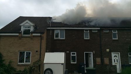 Christopher Tye Close, Ely, house fire