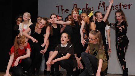 The Rocky Monster Show dress rehearsal at Cromwell Community College. Picture: Rob Morris
