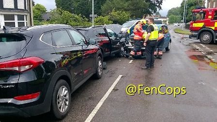 Collision on Norwich Road in Wisbech