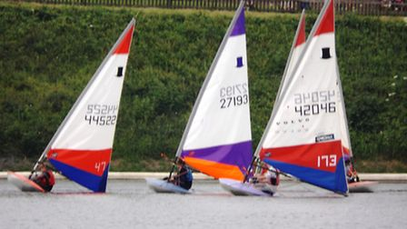 Action from a previous Ely Sailing Club event