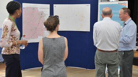 Level crossings closure exhibition at March community centre. Picture: Steve Williams.