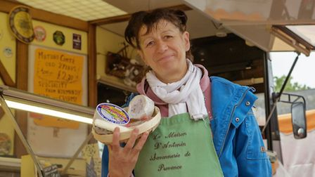 Ely European Market. Lulu Fromage. Picture: Barry Giddings.