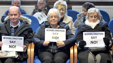 One of the many protests by residents against the AD plant. Now they must do it again.