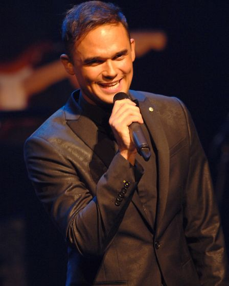 Gareth Gates in Mad About The Musicals