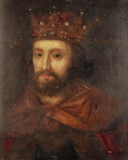 Portrait of King John. Picture supplied by Stories of Lynn.