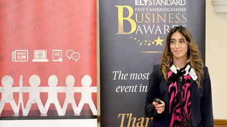 The 2016 Ely Standard East Cambridgeshire Business Awards Networking event. Binal Cadiev, Signpost 2