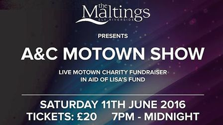 Motown charity show at The Maltings, Ely