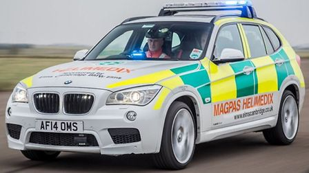 March woman in her 50s collapses – Magpas air ambulance called to scene