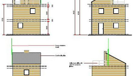 Plans for the new East Cambridgeshire firefighter's training facility in Sutton.
