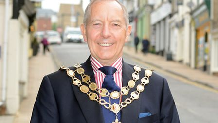 The new Mayor of Ely, Councillor Ian Lindsay.