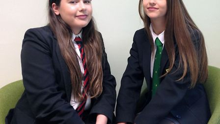Ely Police. Left: Molly Curtis and Francesca Galelli