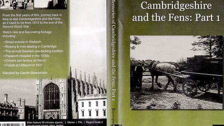Cambridgeshire and the Fens. DVD cover Part 1.