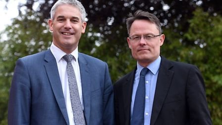 Steve Barclay and Andrew Read