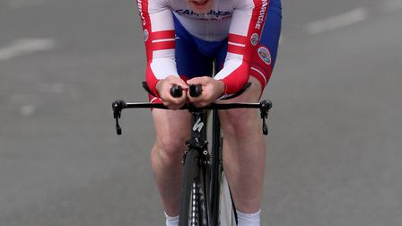 The winner of the Ely & District Cycling Club's annual open 10-mile time trial, David McGaw.