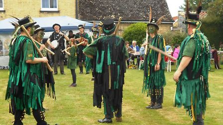 Sutton Masque perform at Witchford Church fete