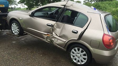 Pictures of recovered vehicles from one day in the Ely area