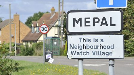 A man was killed after his motorcyle collided with a van on the A142 near Mepal this morning (June 8