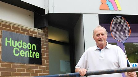 Les Wiles at the Hudson Centre, Wisbech.