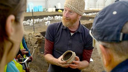 Must Farm archaeologist to give free talk on findings. Mark Knight, Cambridge Archaeological Unit's
