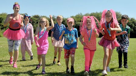 Race for Life at St Marys School, High Barns, Ely, Picture: Steve Williams.